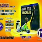 1SpotMedia offering free Usain Bolt Biography with 12-month Subscription