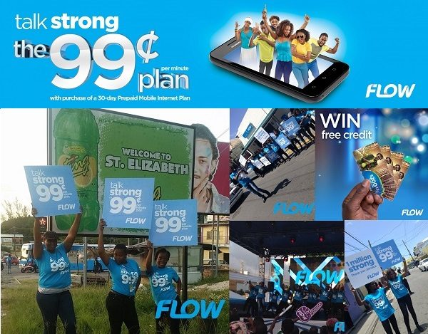FLOW Jamaica's 30-Day Prepaid Mobile Internet gives you 99 cents Plan