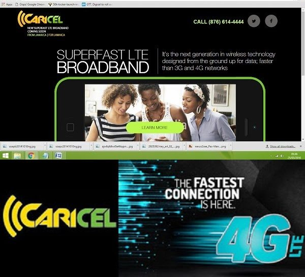 Geezam - FLOW Jamaica and Caricel may launch 4G LTE with Unlimited Data and Family Plans - 15-06-2016 LHDEER (1)