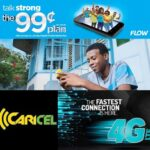 FLOW Jamaica and Caricel may launch 4G LTE with Unlimited Data and Family Plans