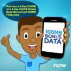 How to get 100mb free from FLOW Jamaica