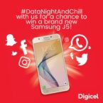 How to get Digicel's Free Data Nights and win a Samsung J5 Prime