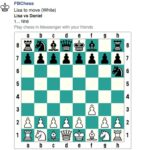How to play the Secret Chess Game in Facebook Messenger