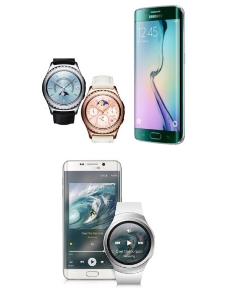 Geezam - Samsung honoured with GSMA Awards for Galaxy s6 Edge and Gear S2 - 25-02-2016 LHDEER
