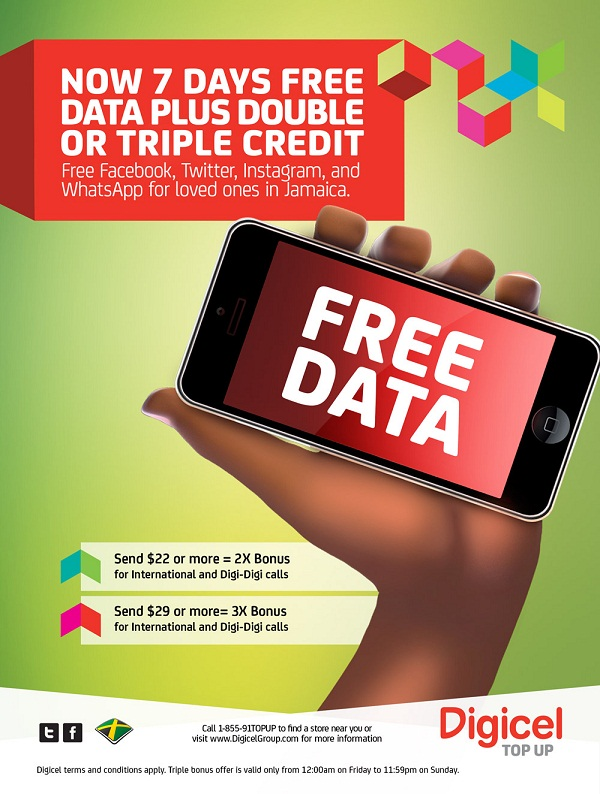 how to put on a digicel phone card