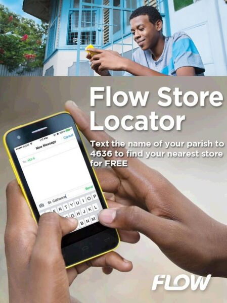 How to locate a FLOW Store as Texting is back in Style