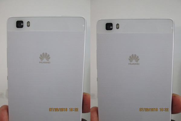 Huawei P8 Lite is Black White and Gold Metallic Luxury (3)