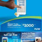 #Switchtoflow promo gives you a Huawei Y3 Lite smartphone as Champs beckons