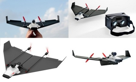 US$199 PowerUp FPV Kickstarter coming to make Virtual Reality Paper Plane (1)