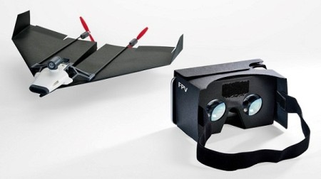 US$199 PowerUp FPV Kickstarter coming to make Virtual Reality Paper Plane (2)