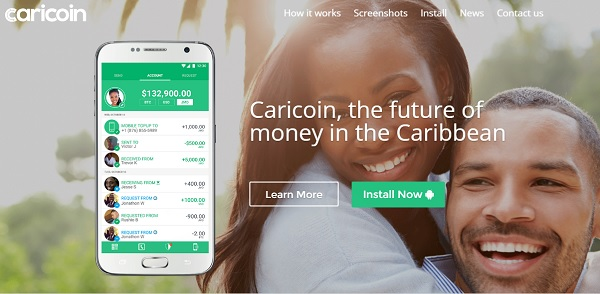 caricoin-screenshot