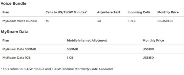 flow roaming 4 postpaid - 16-06-2016 LHDEER