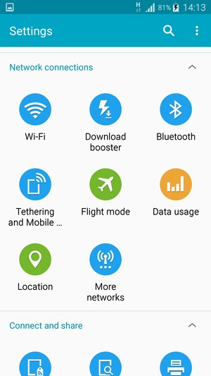 How to put FLOW or Digicel Data Settings on a Samsung or Android
